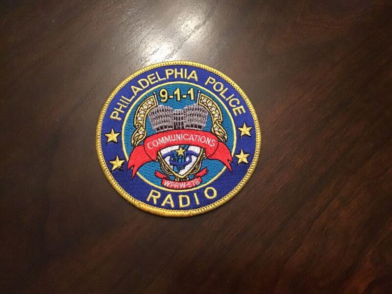 Philadelphia Pennsylvania Police Radio Communications Police Patch