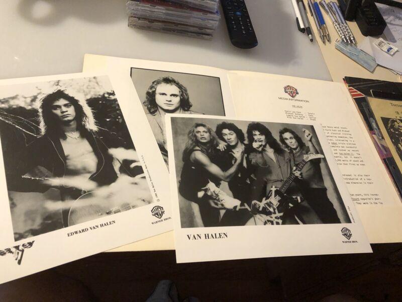 Van Halen Women And Children First Press Kit