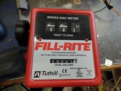 Fill-rite Series 800c Meter