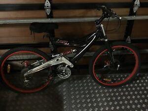 Dual suspension  mountain bikes Salamander Bay Port Stephens Area Preview