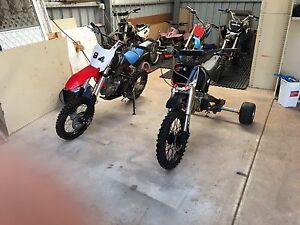 For sale 125 cc trike and 125 cc pit bike or swap for manual car Blakeview Playford Area Preview