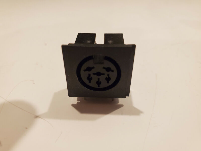 Commodore 64 128 Serial Video Port Connector DIN6 DIN-6