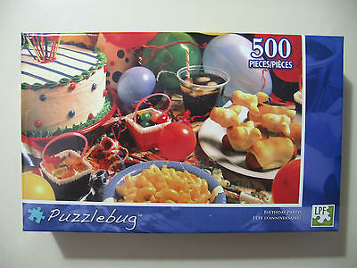500 pc Puzzle, Puzzlebug: Birthday Party, Brand New & Sealed