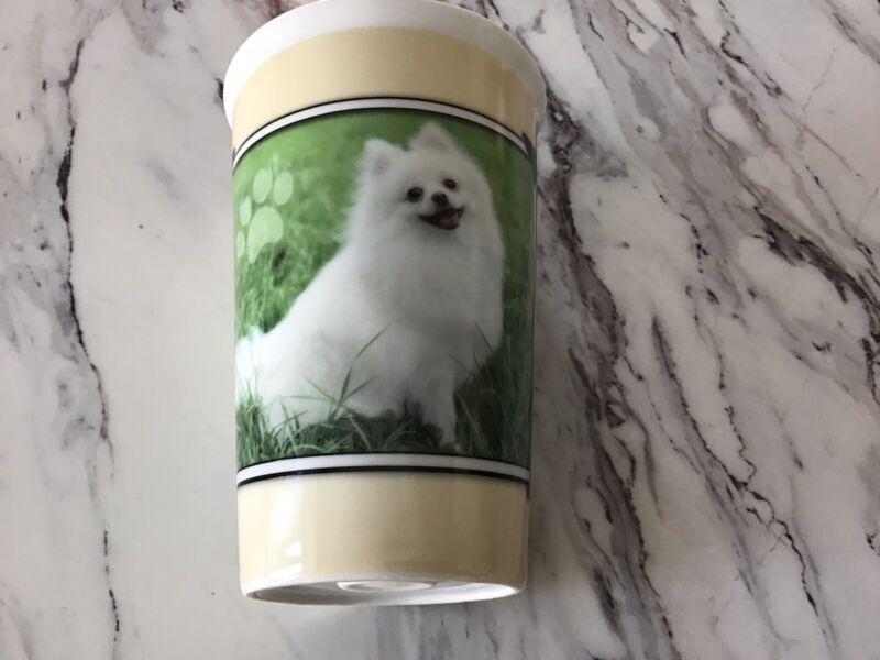 I ❤️ My Pomeranian Tumbler Mug Ceramic New