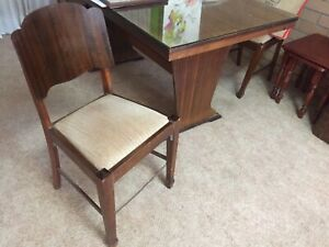 Dinning table with #six chairs