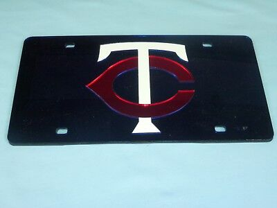 Minnesota Twins LASER TAG durable Acryllic Mirror INDOOR/OUTDOOR by Rico New! bl Minnesota Twins Laser