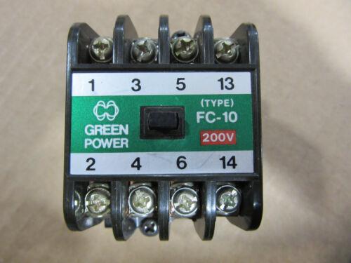 Matsushita Green Power Panasonic BMF6-10-31-2 Contactor FC-10 Coil 220V VGC!!!
