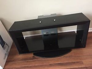 Sony Glass & Hardwood TV Stand