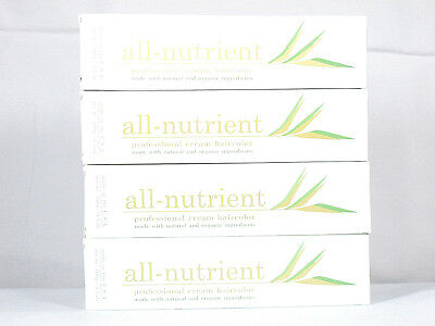 (All-Nutrient Permanent Haircolor Natural Organic Hair Color CHOCOLATE Series CH)
