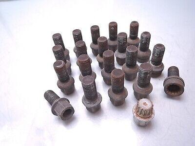 Skoda Fabia 6Y2 6Y3 Combi 6Y5 Praktik M14x1,5x27 Stahlfelgen 20 x Radschraube f
