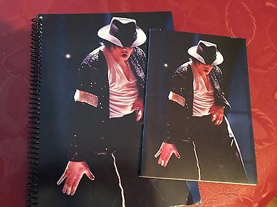 2 Michael Jackson Billie Jean Notebooks