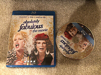 Absolutely Fabulous The Movie ( Blu-ray + Case w/ Artwork )