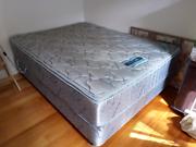 SleepMaker Queen size base and mattress Oakleigh South Monash Area Preview