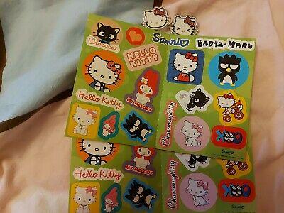 Sanrio Hello Kitty Enamel Pins Stickers