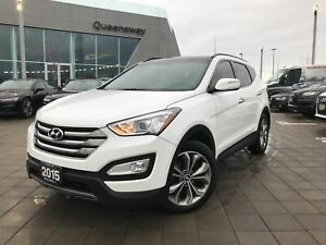 2015 Hyundai Santa Fe Sport 2.0T Limited|No Accidents|Navi|Pano