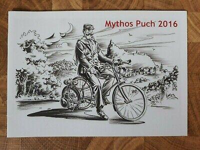 "Steyr-Puch      ""Mythos Puch""         Brochure /  Prospekt  2016 !!!"