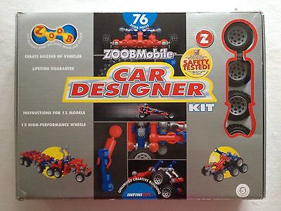Zoob Mobile Car Designer Kit 12052 88 Pieces
