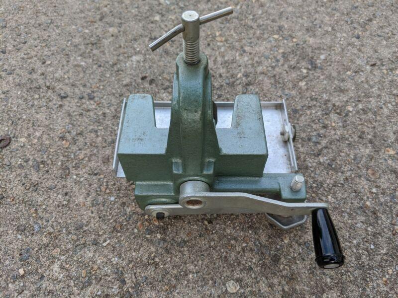 Vintage Harry M Fraser Cloth Cutting Machine Model 500-1 Slitter Free S&H