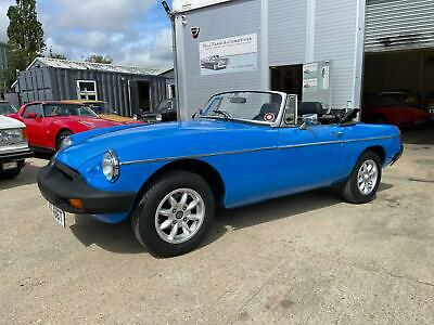 MGB Roadster, 1978, nice useable classic car.