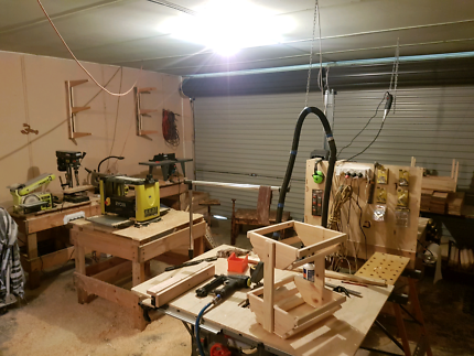 Woodworking set up all machines and more