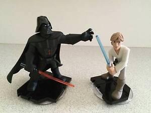 STAR WARS Disney Infinity 3.0 Figures (Darth Vader LukeSkywalker) Nundah Brisbane North East Preview
