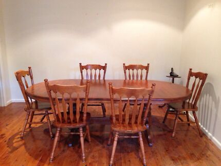 Dining Room Table and Chairs Oyster Bay Sutherland Area Preview