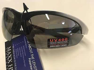 Maxx HD XRAY3 Polarized High Definition Sunglasses Red Frame//Amber Lens 495912