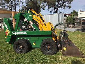 Kanga warrior mini loader attachments and trailer package Carrum Downs Frankston Area Preview