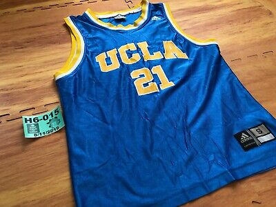 Adidas UCLA Bruins NCAA Basketball Men Blue Jersey #21 Small S❄️H6-015 for sale  Sierra Madre