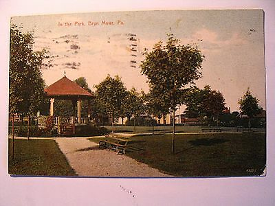 In The Park In Bryn Mawr Pa 1908