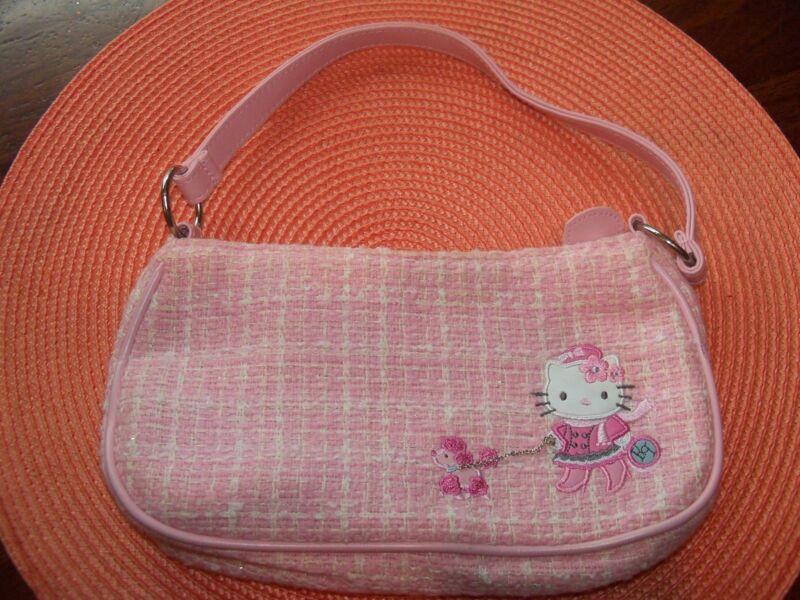 Sanrio HELLO KITTY Pink Purse Girl