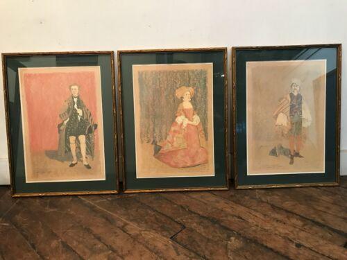 Deirdre Clancy Costume Design Print Trio Metropolitan Opera Cosi Fan Tutte 1981