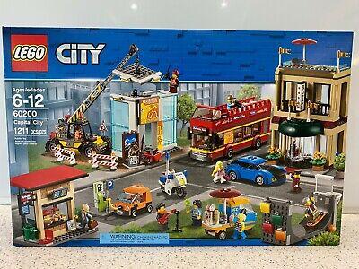 LEGO City Capital City (60200) New, Unopened, Retired NIB