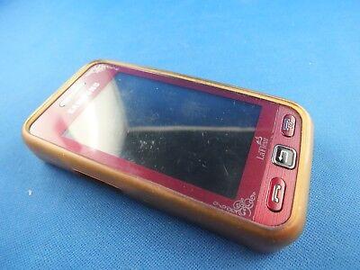 Gebraucht, Tasche Hülle Samsung GT S5230 Handytasche Nostalgie Klassik Transparent Weiß TOP gebraucht kaufen  Havixbeck
