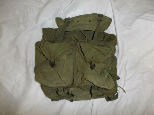 L1T-4 Vietnam RVN US  X-Frame ruck sack backpack canvas web original