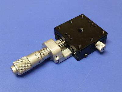 Optosigma Sigma Koki Tsd-401c Linear Translation Stage With Micrometer 13mm