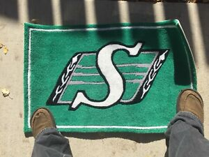Saskatchewan Roughriders Doormat / Welcome Mat