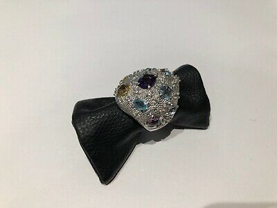 Anillo Ring en Plata con Diamantes y piedras semipreciosas de colores -...