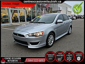 Mitsubishi Lancer SE 2011, MANUELLE, AIR CLIM, BLUETOOTH, MAGS 1