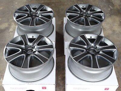 4x Original Mercedes S-Klasse W222 & W217 18 Zoll Alufelgen A2224011102 neuwert.