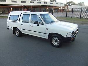 1994 Toyota Hilux Ute WITH CANOPY Toowoomba Toowoomba City Preview