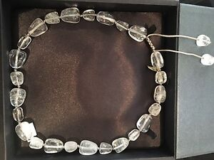 Lola Rose brand new rock clear crystal necklace Kotara Newcastle Area Preview