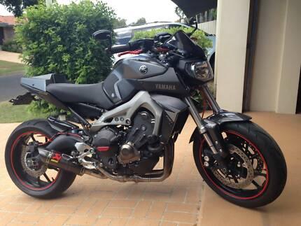 2015 Yamaha MT09 Taigum Brisbane North East Preview