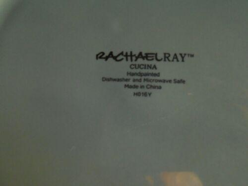 """Rachael Ray Cucina Agave Blue 10 5/8"""" DINNER PLATE"""