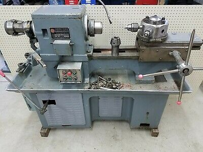 Free Shipping 15 Turret Production Metal Lathe 6 Hole Turret