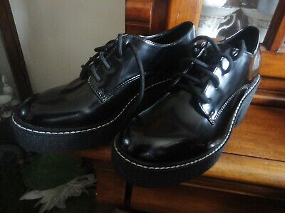 Size 39 Bershka Women's Black Shoes na sprzedaż  Wysyłka do Poland