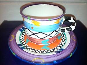 Handpainted Tea Cup from The Africa Cafe - South Africa   NEW Crows Nest North Sydney Area Preview
