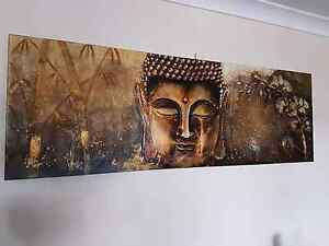 Very large buddha 3d canvas Ipswich Ipswich City Preview