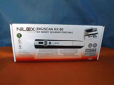 SCANNER PORTATILE NILOX DIGISCAN NX-80 NUOVO IMBALLATO E FATTURATO