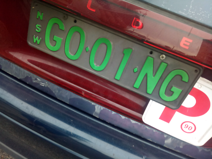 Number plates